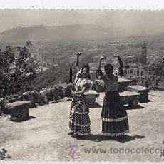 Postales: MALAGA. VISTA PARCIAL DESDE GIBRALFARO. FOTO DIEGO CORTES. CIRCULADA. Lote 11641138