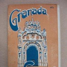 Postales: GRANADA. BLOC CON 20 TARJETAS POSTALES. CATEDRAL. (L. ROISIN). . Lote 11739694