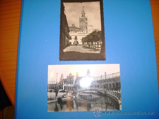 5 ANTIGUAS POSTALES DE SEVILLA (Postales - España - Andalucía Antigua (hasta 1939))
