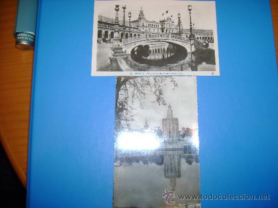 Postales: 5 ANTIGUAS POSTALES DE SEVILLA - Foto 2 - 26692110