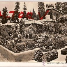 Postales: ANTIGUA POSTAL GRANADA GENERALIFE JARDINES BAJOS FOTO ZERKOWITZ CIRCULADA . Lote 12088650