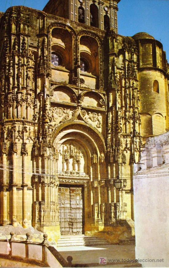 ARCOS DE LA FRONTERA: CÁDIZ. PARROQUIA DE SANTA MARÍA. FACHDA PRINCIPAL. ED. ARRIBAS Nº 2009. (Postales - España - Andalucia Moderna (desde 1.940))