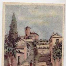 Postales: GRANADA. CUESTA DE SAN CRISTOBAL. ED. LITOGRAFIA ANEL. SIN CIRCULAR. Lote 205593588