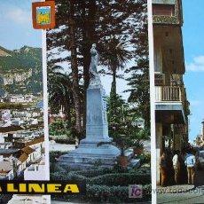 Postales: LA LÍNEA: CÁDIZ . DIVERSOS ASPECTOS. ED. SUBIRATS CASANOVAS Nº 53. ESCRITA. Lote 12673507