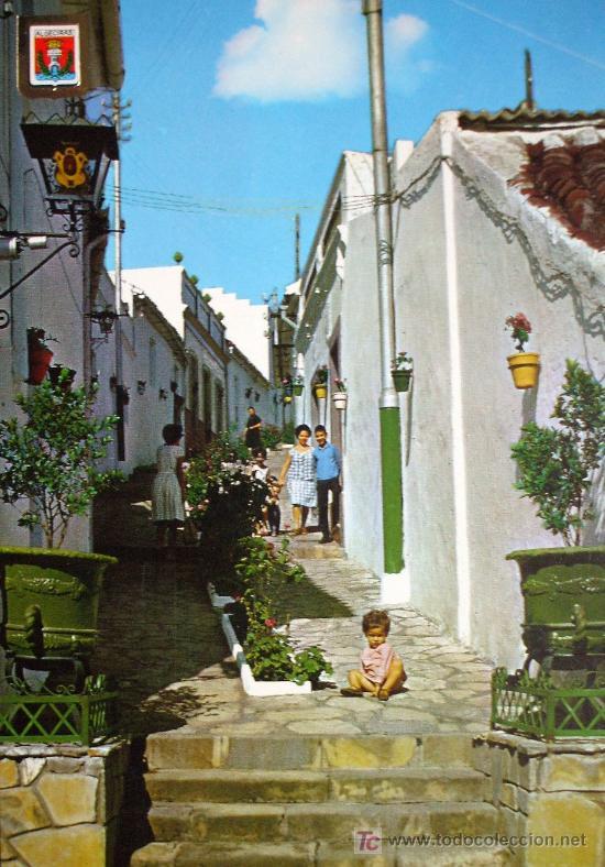 ALGECIRAS: CÁDIZ . CALLE TÍPICA: ED. A. SUBIRATS CASANOVAS Nº 23 (Postales - España - Andalucia Moderna (desde 1.940))