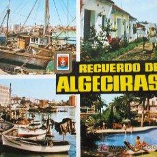 Postales: ALGECIRAS: CÁDIZ. DIVERSOS ASPECTOS. SUBIRATS CASANOVAS Nº 26. Lote 12713402