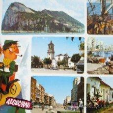 Postales: ALGECIRAS: CÁDIZ. DIVERSOS ASPECTOS. SUBIRATS CASANOVAS Nº 63. ESCRITA. Lote 12713445