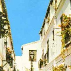 Postales: MALAGA (COSTA DEL SOL) - CALLE TÍPICA. Lote 12746829