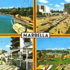 Postales: MARBELLA (COSTA DE SOL) - DIVERSOS ASPECTOS. Lote 12753049