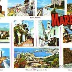 Postales: MARBELLA (COSTA DEL SOL) - DIVERSOS ASPECTOS. Lote 12764087