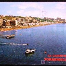 Postales: LA CARIHUELA. TORREMOLINOS - MÁLAGA.. Lote 13645356