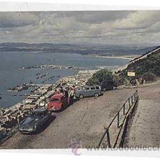 Postales: GIBRALTAR. VIEW OF TOWN & HARBOUR. ED. THE ROCK PHOTOGRAPHIC SERVICE, MADE IN USA. SIN CIRCULAR. Lote 12872116