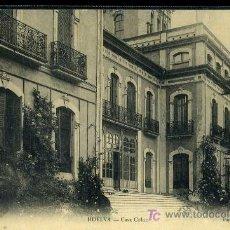 Postales: TARJETA POSTAL DE HUELVA. CASA COLON. PAPELERIA INGLESA. Lote 23805966