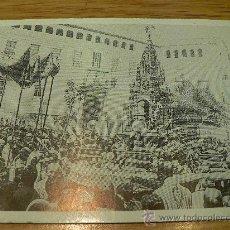 Postales: POSTAL DE JAEN AÑO 1917 LA CUSTODIA DE VANDALINO CORPUS CHRISTI. Lote 13064726