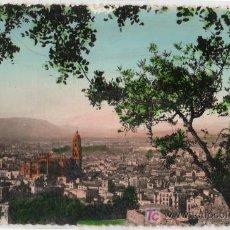 Postales: TARJETA POSTAL DE MALAGA. VISTA GENERAL. FOTO DIEGO CORTES. Lote 13211995