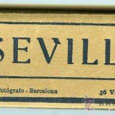 Postales: MINI BLOC POSTALES SEVILLA 36 PRECIOSAS VISTAS. Lote 13630870