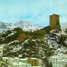 Postales: POSTAL CASTILLO DE LA YEDRA. CAZORLA. JAEN. Lote 13734607