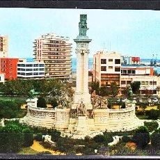Postales: Nº 92 CADIZ. PLAZA DE ESPAÑA. MONUMENTO A LAS CORTES. Lote 13738177