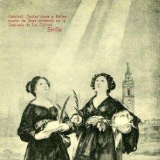 Postkarten - POSTAL SEVILLA CATEDRAL CUADRO DE GOYA SANTAS JUSTA Y RUFINA - 13808541