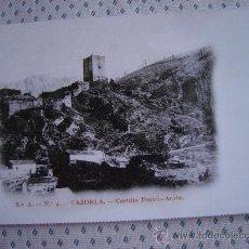Postales: POSTAL DE CAZORLA, CASTILLO FENICEO ARABE . Lote 13978822