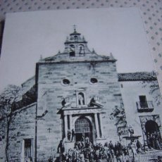 Postales: POSTAL DE LINARES PARROQUIA DE SAN FRCO. HACIA 1904. Lote 13978929