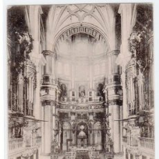 Postales: TARJETA POSTAL DE GRANADA. ALTAR MAYOR DE LA CATEDRAL. Lote 14114090