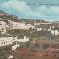 Cartes Postales: POSTAL ANTIGUA DE GIBRALTAR. BUENA VISTA HEIGHTS AND WIRELESS STATION. P-GIBR-038. Lote 14124964