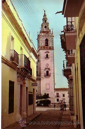 MOGUER (HUELVA).- IGLESIA PARROQUIAL (Postales - España - Andalucía Antigua (hasta 1939))