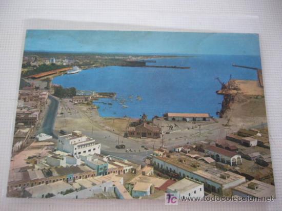 ALMERÍA. PUERTO Y VISTA PARCIAL. ED. SEGURA. Nº 7007 (Postales - España - Andalucia Moderna (desde 1.940))