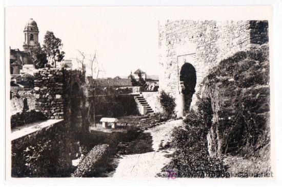 TARJETA POSTAL DE MALAGA. ALCAZABA. FOTO DIEGO CORTES (Postales - España - Andalucía Antigua (hasta 1939))