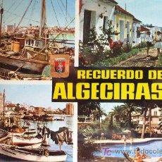 Postales: ALGECIRAS: CÁDIZ. VARIOS ASPECTOS. SUBIRATS CASANOVAS Nº 26. AÑOS 60. Lote 14228130