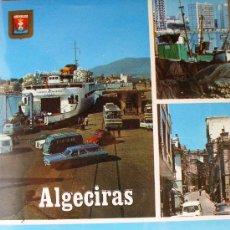 Postales: ALGECIRAS: VARIOS ASPECTOS. SUBIRATS CASANOVAS Nº 112. . Lote 14228648