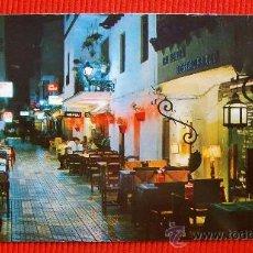 Postales: CALLE DEL CAUCE - TORREMOLINOS - MALAGA. Lote 14384665