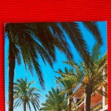 Postales: PASEO DE LA ROCA - TORREMOLINOS - MALAGA. Lote 14428446