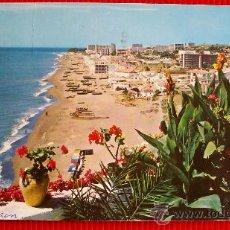 Postales: LA CARIHUELA - TORREMOLINOS - MALAGA. Lote 14430461