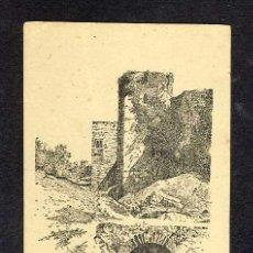Postales: POSTAL DE GRANADA: TORRES DE LA ALHAMBRA (DORSO PUB. LABORATORIOS FERMART) (VER FOTO DEL DORSO). Lote 14485807