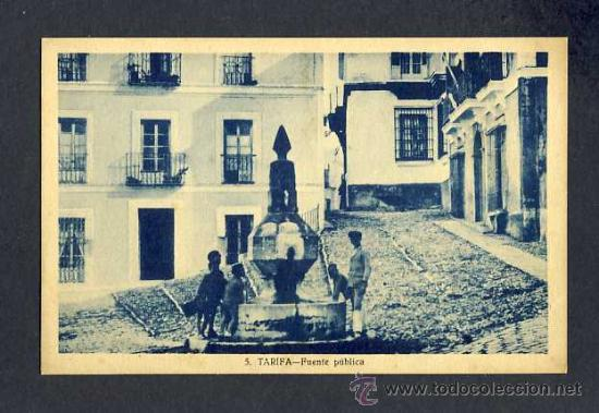 POSTAL DE TARIFA (CADIZ): FUENTE PUBLICA (ED.RUFFO NUM.5) (Postales - España - Andalucía Antigua (hasta 1939))