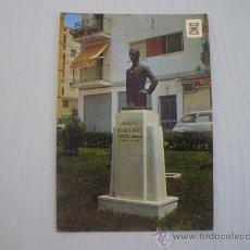 Postales: LINARES (JAEN) - MONUMENTO A MANOLETE (MANUEL RODRIGUEZ SANCHEZ). Lote 14551741