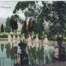 Postales: MALAGA, SAN JOSE ESTANQUE.. Lote 27212912
