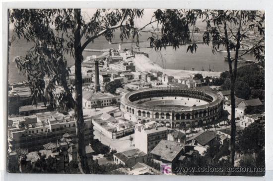 TARJETA POSTAL DE MALAGA. VISTA DESDE GIBRALFARO. FOTO DIEGO CORTES (Postales - España - Andalucía Antigua (hasta 1939))