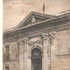 Postales: MUY BUENA POSTAL DE SEVILLA - LA ADUANA -CARRUAJE-CARRO. Lote 14912332