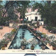 Postales: POST 104 - POSTAL NO CIRCULADA: 105 - SEVILLA - ESTANQUE DE LAS DELICIAS - L.ROISIN FOT. . Lote 15045443