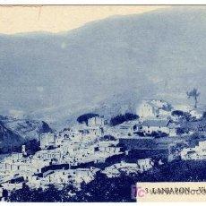 Postales: INTERESANTE Y ANTIGUA POSTAL - LANJARON (GRANADA) - VISTA GENERAL DEL PUEBLO. Lote 18694424
