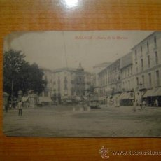 Postales: POSTAL MALAGA ACERA DE LA MARINA EDITOR RAFAEL TOVAL SIN CIRCULAR. Lote 15139699
