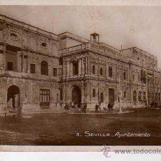 Postales: POSTAL DE SEVILLA - AYUNTAMIENTO. Lote 15209536