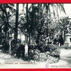 Postales: CADIZ, PLAZA DE CASTELAR, P30324. Lote 15281192