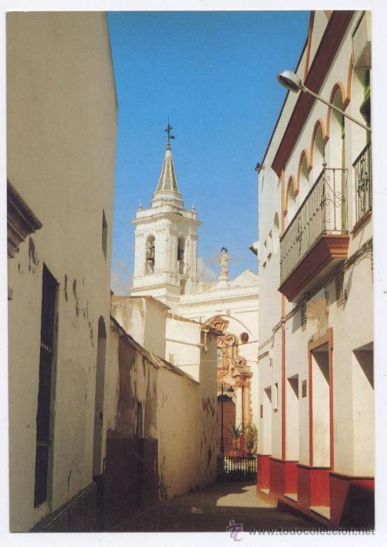 POSTAL ALMONTE (HUELVA) - CALLE BOTICA - BEASCOA (Postales - España - Andalucia Moderna (desde 1.940))