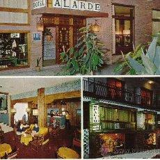 Postales: POSTAL HOTEL ALARDE ALGECIRAS. Lote 28410100