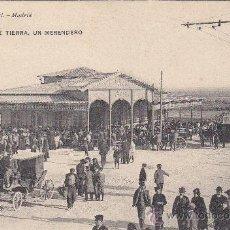 Postales: CADIZ: PUERTA DE TIERRA: UN MERENDERO: HAUSER Y MENET CIRCULADA 1910 A ITALIA. MATASELLOS DE LLEGADA. Lote 21861702