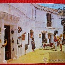 Postales: CALLE GENERAL MOLA - MIJAS - MALAGA. Lote 15571957